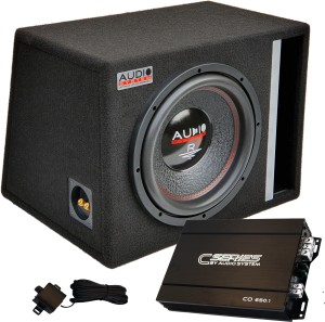 Audio Systen R12EVO 600W RMS + CO650.1D 650W