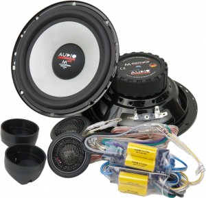 Audio System M165EVO2 +dystans UNIWRS LSR165/10mm