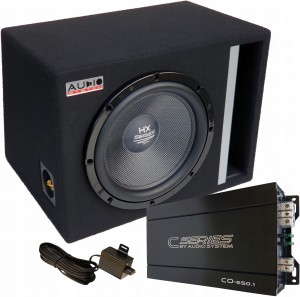 Audio System HX12SQ Carbon+monoblok CO650.1 650W