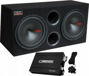 Audio System Carbon 12 2x30cm +CO650.1D 650W RMS
