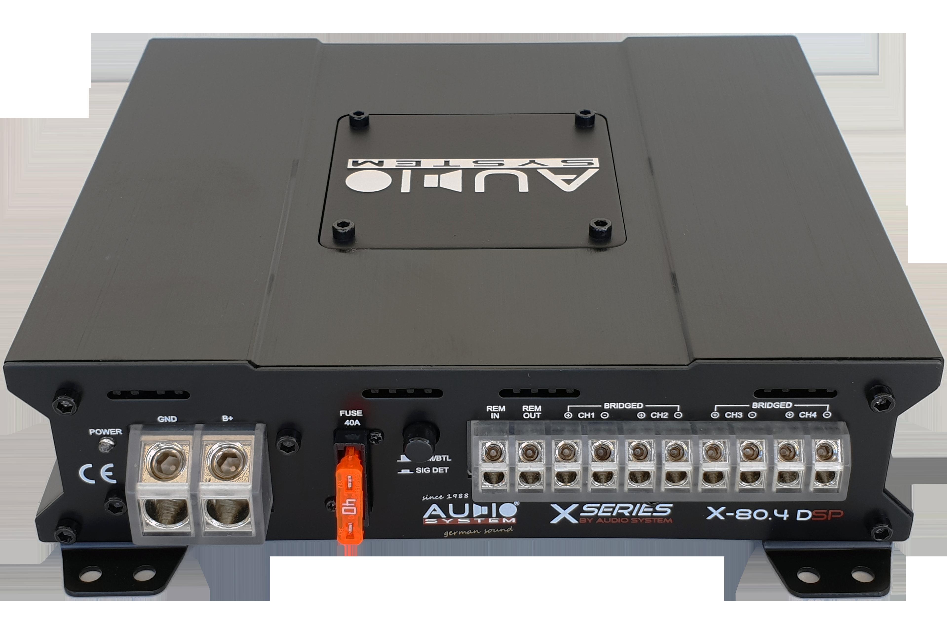 X80.4 DSP kanały